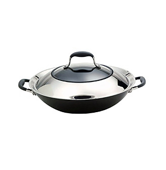"""Anolon® Advanced 14"""" Hard-Anodized Nonstick Covered Wok"""
