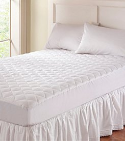 Natura World Organic Wool-Filled Fitted Mattress Pad
