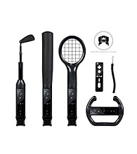 CTA Digital Grand Slam 6-pc. Sports Pack for Nintendo® Wii® - Black