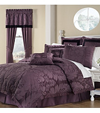 Lorenzo 8-pc. Comforter Set by Royal Heritage Home® - Purple