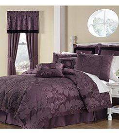 Royal Heritage Home® Lorenzo 8-pc. Purple Comforter Set