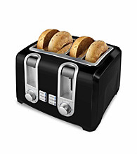 Black & Decker® 4-slice Toaster - Black