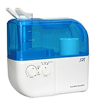 Sunpentown® Dual-Mist Ultrasonic Humidifier - White