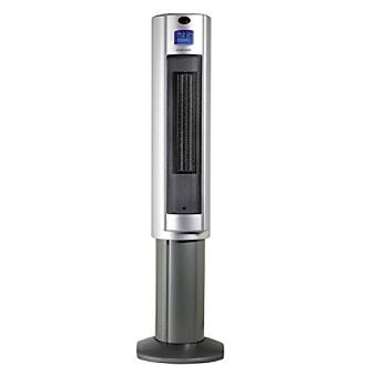 Sunpentown® Silver Pedestal Ceramic Heater