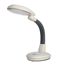 Sunpentown® EasyEye 4-tube Energy Saving Desk Lamp - Gray