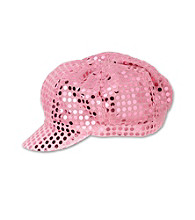Miss Attitude Girls' Sequin Hat