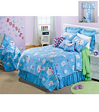 Bubbles Kids' Wholecloth Quilt Bedding Collection by Donna Sharp®