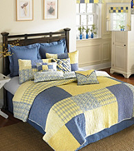 Anna Square Patchwork Quilt Bedding Collection by Donna Sharp®