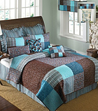 Sophie Square Patchwork Quilt Bedding Collection by Donna Sharp®