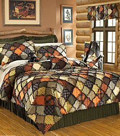 Woodland Theme Quilt Bedding Collection by Donna Sharp®