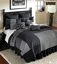 Herringbone Square Patchwork Quilt Bedding Collection by Donna Sharp®
