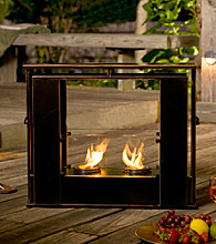 Holly & Martin™ Walton Portable Indoor/Outdoor Gel Fuel Fireplace