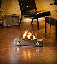 Holly & Martin™ Hudson Portable Indoor/Outdoor Fireplace
