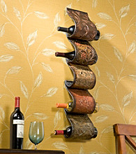 Holly & Martin™ Salinas Wall Mount Wine Rack Sculpture