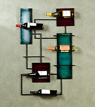 Holly & Martin™ Santa Maria Wine Storage Wall Sculpture