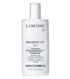 Lancome® Bienfait UV SPF 50+ Super Fluid Facial Sunscreen