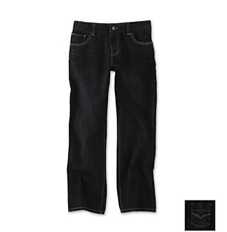 DKNY® Boys' 2T-20 Black Straight Leg Jeans