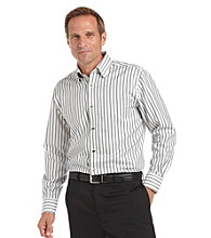 Kenneth Roberts Platinum® Men's Oxford Stripe Shirt - Mica