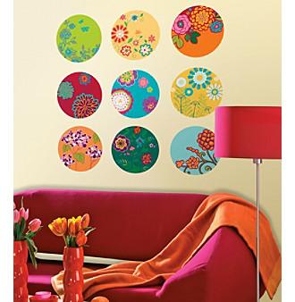 Lot 26 Studio® Floral Print Dots Wall Decals