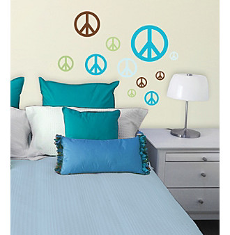 Lot 26 Studio® Madison Peace Signs Wall Decals