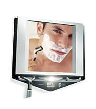Zadro Z Fogless Lighted Mirror with Clock