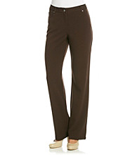 Rafaella® Petites' 5-pocket Textured Pants