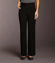 Rafaella® Petites' Ergo-fit Slimming Wide-waistband Pants