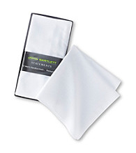 John Bartlett Statements Men's 13-Pack Creased Handkerchiefs - White