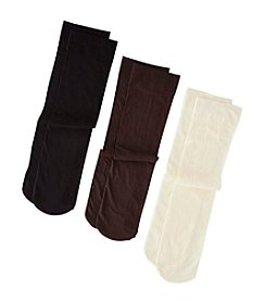 Relativity® Solid Trouser Socks 3-Pack