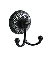 Elegant Home Fashions® Sonoma Towel Double Hook - Matte Black
