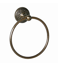 Elegant Home Fashions® Sonoma Towel Ring - Antique Brass