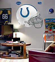 NFL® Indianapolis Colts Helmet Stick-on Wall Graphic