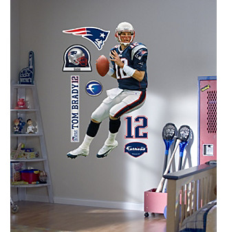NFL® Tom Brady Wall Graphic
