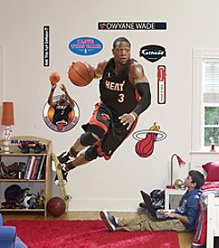 NBA® Miami Heat Dwyane Wade Drives Wall Graphic