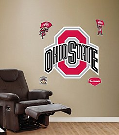 NCAA® Ohio State Buckeyes Logo Stick-on Wall Graphic