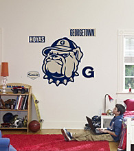 NCAA® Georgetown Hoyas Logo Stick-on Wall Graphic