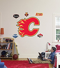 NHL® Calgary Flames Stick-on Wall Graphic