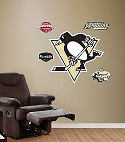 NHL® Pittsburgh Penguins Stick-on Wall Graphic