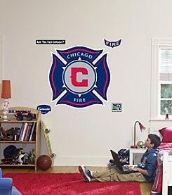 MLS® Chicago Fire Stick-on Wall Graphic