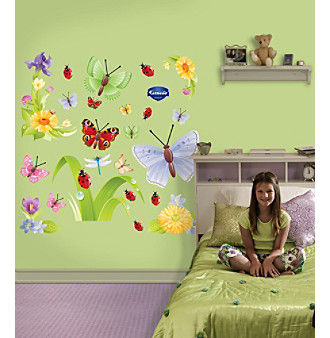Butterflies Group Two Stick-on Wall Graphics