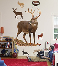 Deer Stick-on Wall Graphic