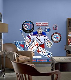 NHL® New York Rangers Henrik Lundqvist Stick-on Wall Graphic