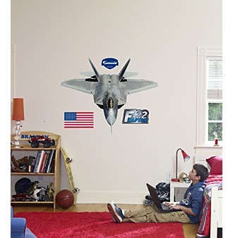 F-22 Raptor Stick-on Wall Graphic