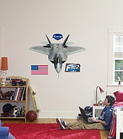 Fathead F-22 Raptor Stick-on Wall Graphic