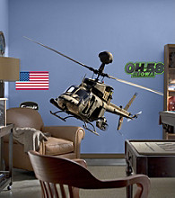 OH-58 Kiowa Warrior Stick-on Wall Graphics