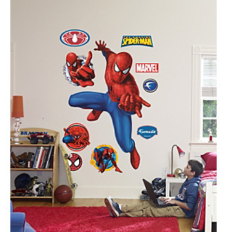 Spider-Man Webslinger Stick-on Wall Graphic