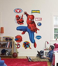 Fathead Spider-Man Webslinger Stick-on Wall Graphic