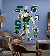NCAA® Michigan State Mascot Stick-on Wall Graphic