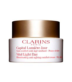 Clarins® VITAL LIGHT DAY Illuminating Anti-aging Comfort Cream for Dry Skin