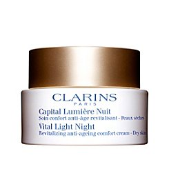 Clarins VITAL LIGHT NIGHT Revitalizing Anti-aging Comfort Cream for Dry Skin